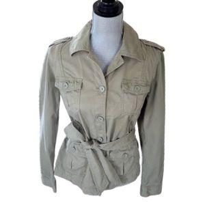 Gap Green Khaki Utility Jacket